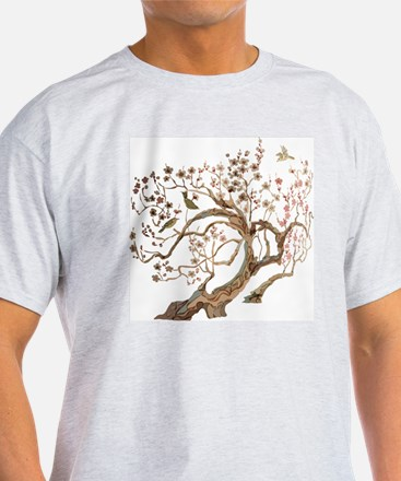 A cherry blossom tree with birds T-Shirt