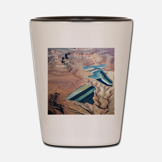 Tailings Ponds Shot Glass
