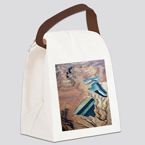 Tailings Ponds Canvas Lunch Bag