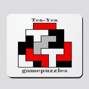 TEN-YEN gamepuzzles Mousepad