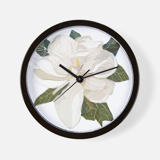 Cute Magnolia Wall Clock