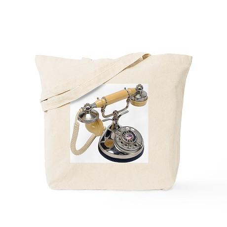 old-fashioned telephone Tote Bag