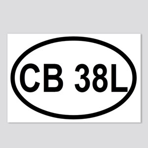 CB 38L  Postcards (Package of 8)