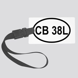 CB 38L  Large Luggage Tag