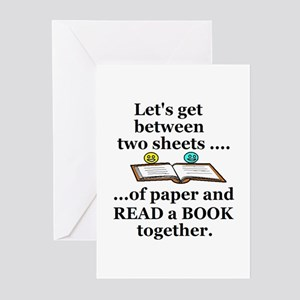 LET'S GET BETWEEN TWO BOOK SH Greeting Cards (Pack