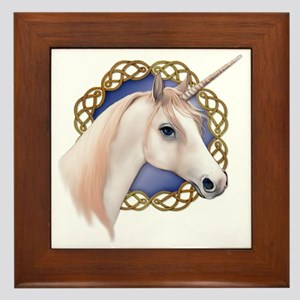 An illustration of a Unicorn with a Ce Framed Tile