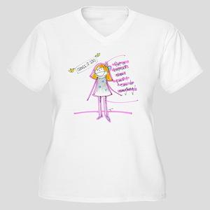 Change is Good Women's Plus Size V-Neck T-Shirt