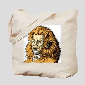 An illustration of a of a businessman ada Tote Bag