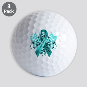 I Wear Teal Golf Balls