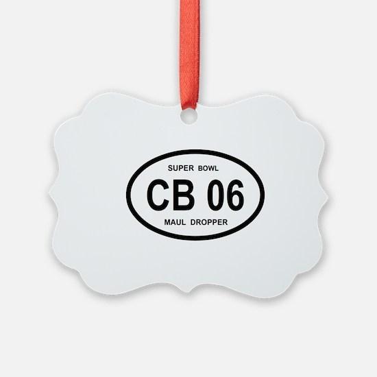 CB 06 SUPERBOWL Ornament