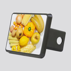 A selection of yellow frui Rectangular Hitch Cover