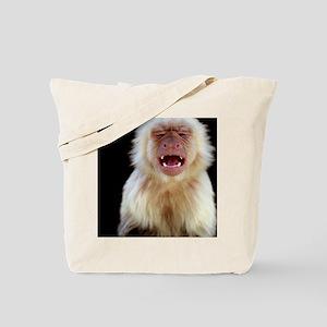 White-throated capuchin (Cebus capucinus) Tote Bag