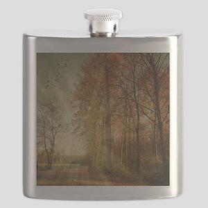 Autumn Landscape. Flask