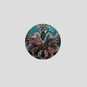 Mandelbulb fractal. A three-dimensiona Mini Button
