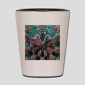 Mandelbulb fractal. A three-dimensional Shot Glass