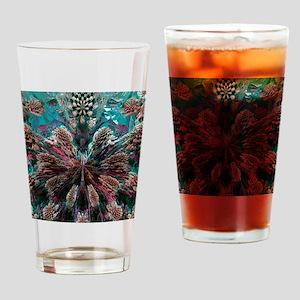 Mandelbulb fractal. A three-dimensi Drinking Glass