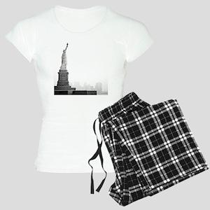 Black and white image of st Women's Light Pajamas