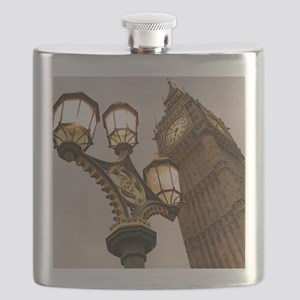Big Ben, London, United Kingdom. Flask