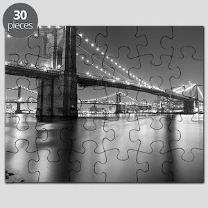 Brooklyn Bridge and Manhattan Bridge at Nig Puzzle