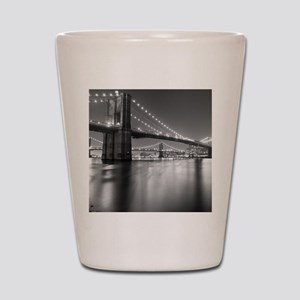 Brooklyn Bridge and Manhattan Bridge at Shot Glass