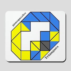 TRIANGOES gamepuzzles Mousepad