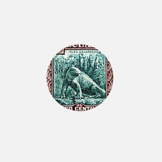 1936 Ecuador Galapagos Land Iguana Pos Mini Button