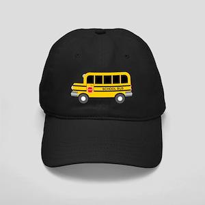 School Bus Black Cap