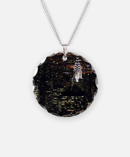 Chrysler Building at night,  Necklace