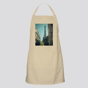 Eiffel Tower taken from different angle. Apron