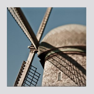 close up of a Dutch windmill. Tile Coaster
