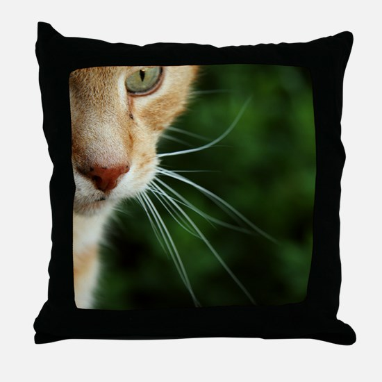 Ginger Cat Throw Pillow