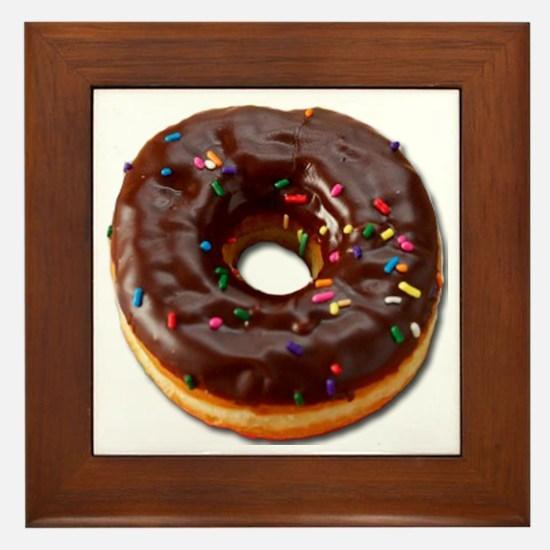Donut Framed Tile