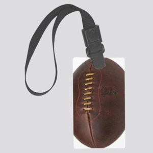 rugby ball Large Luggage Tag