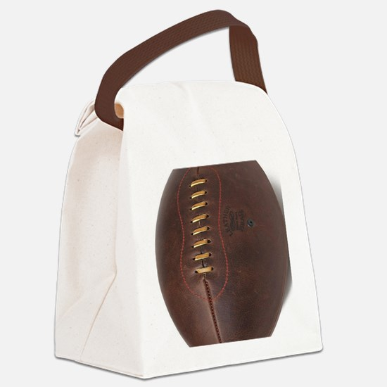 rugby ball Canvas Lunch Bag