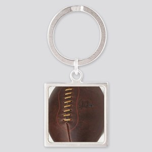 rugby ball Square Keychain