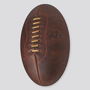rugby ball Sticker (Oval)