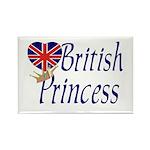British Princess Rectangle Magnet (10 pack)