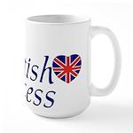 British Princess Large Mug