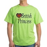 British Princess Green T-Shirt