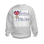 British Princess Kids Sweatshirt