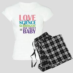 Love, Science,  a Surrogate Women's Light Pajamas