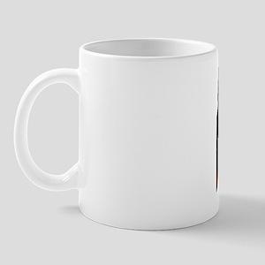 Dobermans barking at each other Mug