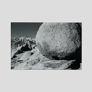 Egg, Lone Pine, California, USA Rectangle Magnet
