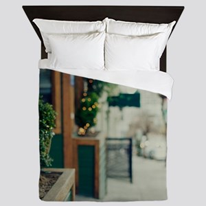 Italian quarter, San Francisco. Queen Duvet