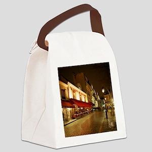 France, Paris, Montmartre Canvas Lunch Bag