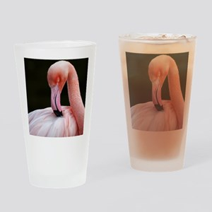 Greater Flamingo Drinking Glass