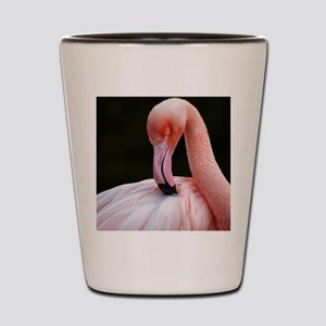 Greater Flamingo Shot Glass