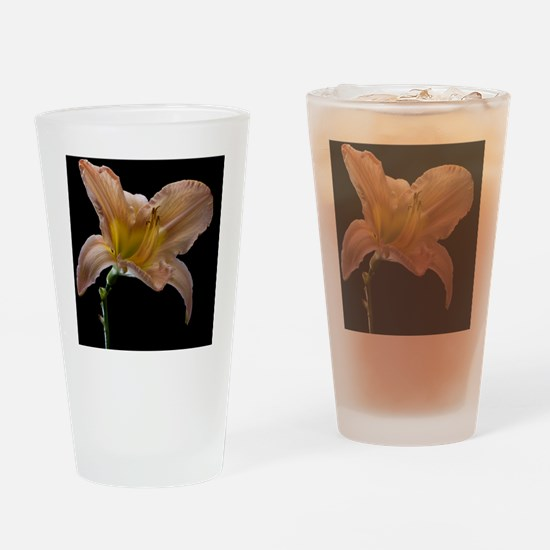 Last day lily flower of summer shot Drinking Glass