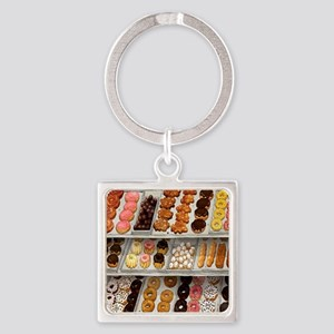donuts Square Keychain