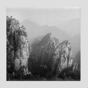 Huangshan mountains, China. Tile Coaster